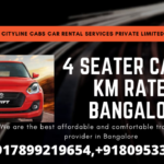 4 Seater Car Per km rate in Bangalore.citylinecabs.in